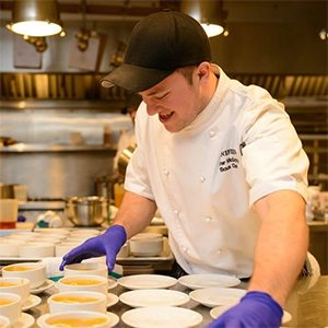 Kiefer McCarthy Stonefields Estate Sous-Chef