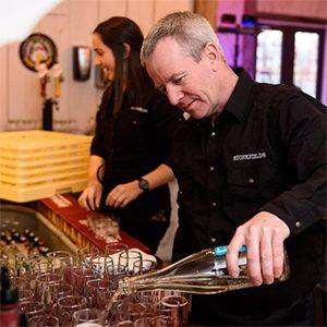 Jim Fairhurst Stonefields Estate Bar Manager